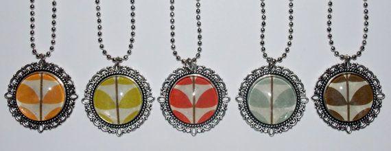 Metal Stem Necklaces by SplatterPalette on Etsy