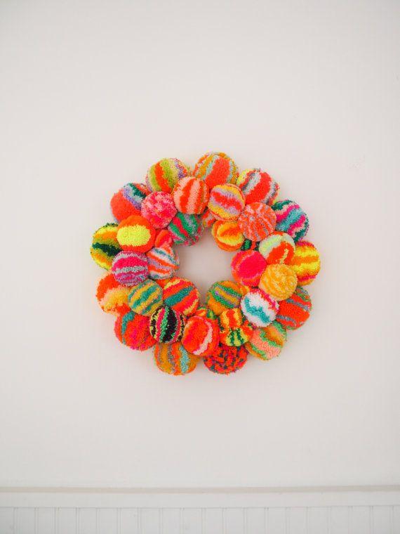 Pom Pom Wreath                                                                                                                                                                                 More
