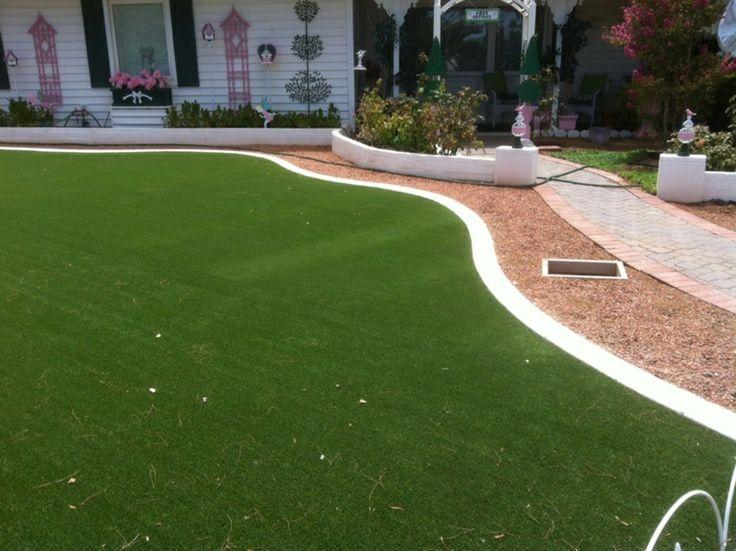 Mejores 37 im genes de decoracion de jardines con c sped - Suelo hierba artificial ...