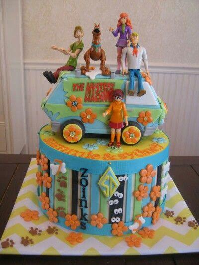 Scooby Birthday Cake
