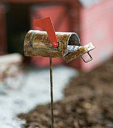 Fairytale Gardens - Rustic Mailbox - (Opens), $8.95 (http://fairytalegardens.com.au/rustic-mailbox-opens/)
