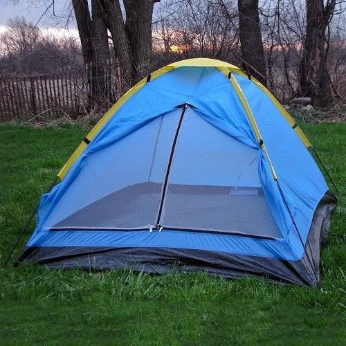 One Person Tent Hiking Camping Portable Travel Camper Shelter with Carry Bag New #HappyCamper #Modern