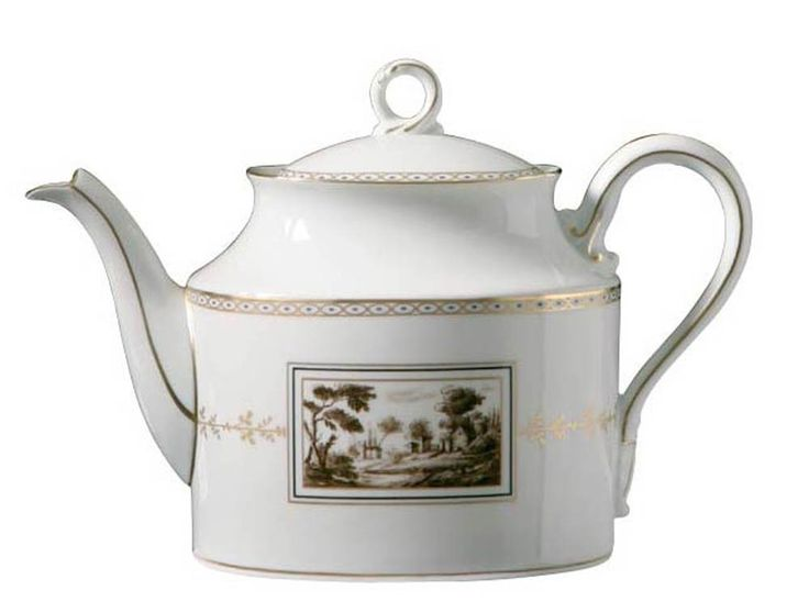 Richard Ginori Fiesole Large Teapot    #TuscanyAgriturismoGiratola