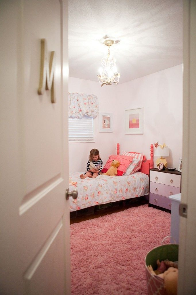 Remodelaholic Little Girl S Pink Bedroom: Megan Campbell Designs