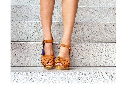 Boucher  Kulikstyle  Sabots suédois  Chaussures  par kulikstyle