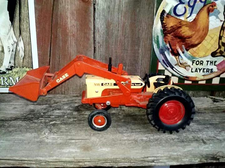Case 530 Farm Tractor : Case j i se new holland scale