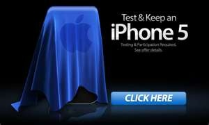 New Apple iPhone 5 Tester and Keep