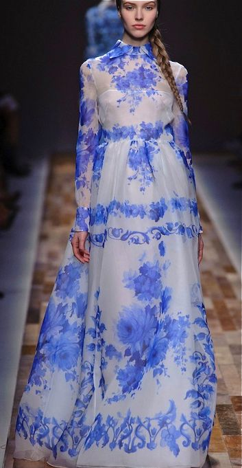 This Valentino dress would be such a pretty spring hijab outfit! All it needs is a thin long sleeved white tee under it and top it off with a citrusy or bright pink scarf: http://www.scarfand.com/summer-colors-lightweight-viscose-scarf-with-fringes/?gclid=CJO0zrqOx8QCFZCIaQodAJYAUw