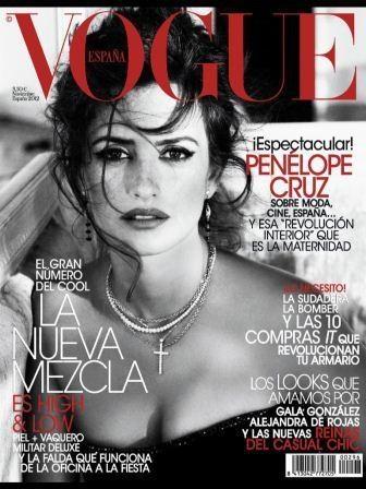Vogue Espana Nov 12 cover