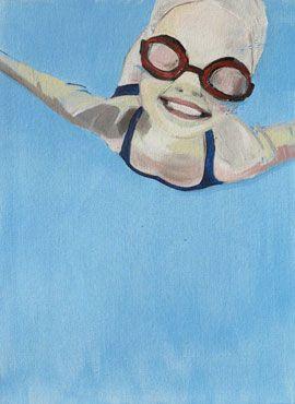 Trust - Original Painting by Michaela Rinaldi | StateoftheART Gallery