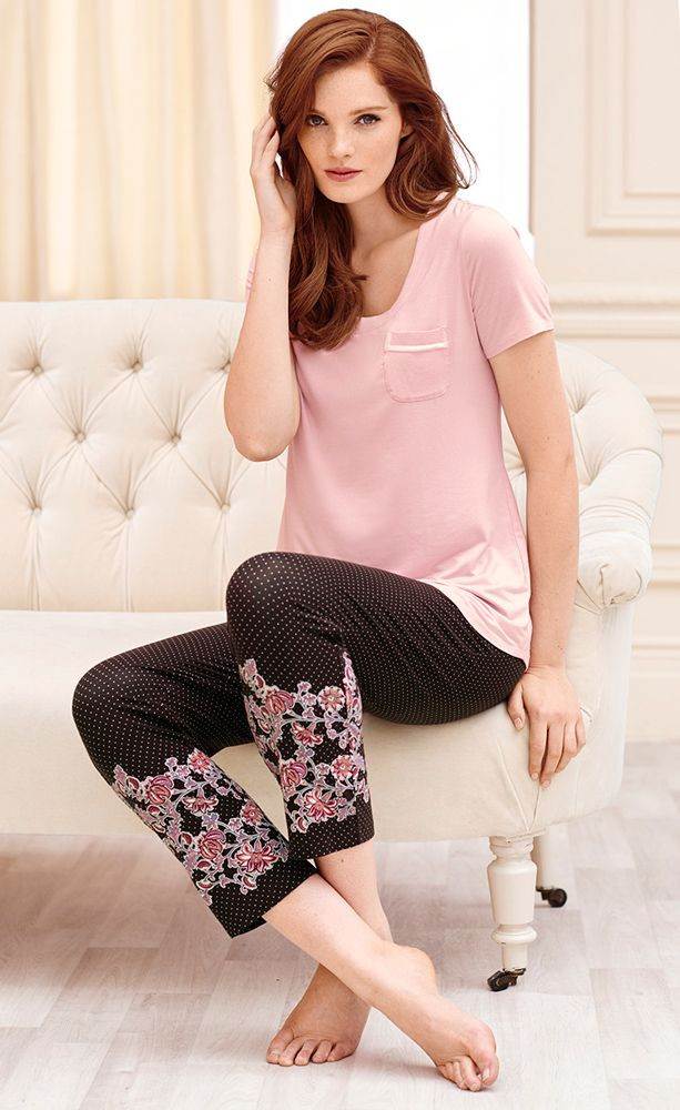 Embraceable Cool Nights Ankle Pajama Pants