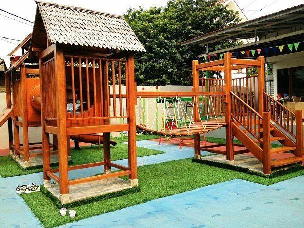 1000 ideas about kids backyard playground on pinterest for Playground equipment ideas