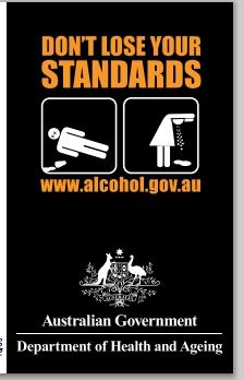 Don't lose your standards -standard drinks guide. Australian Government