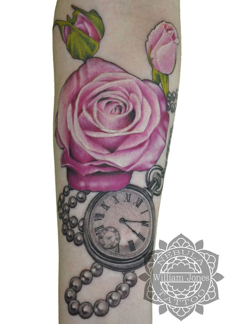 31 best Open Pocket Watch Tattoo Designs images on ...