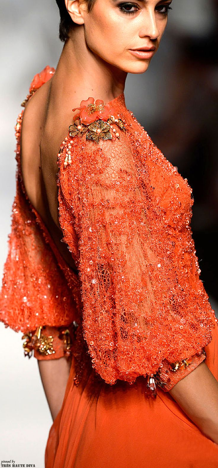 Abed Mahfouz Couture!  Pretty Sleeves!                              …