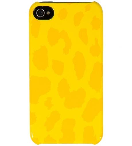 Yellow Cheetah Animal Snap Case