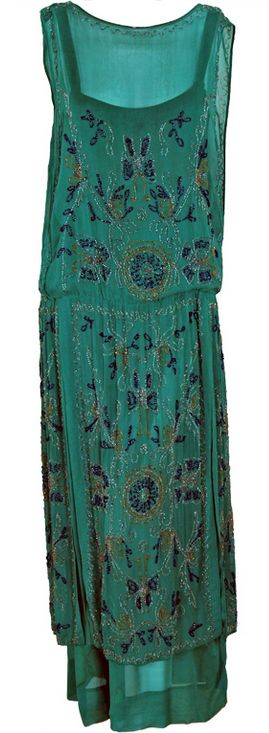 Beautiful Dress  early 1920s  Timeless Vixen Vintage