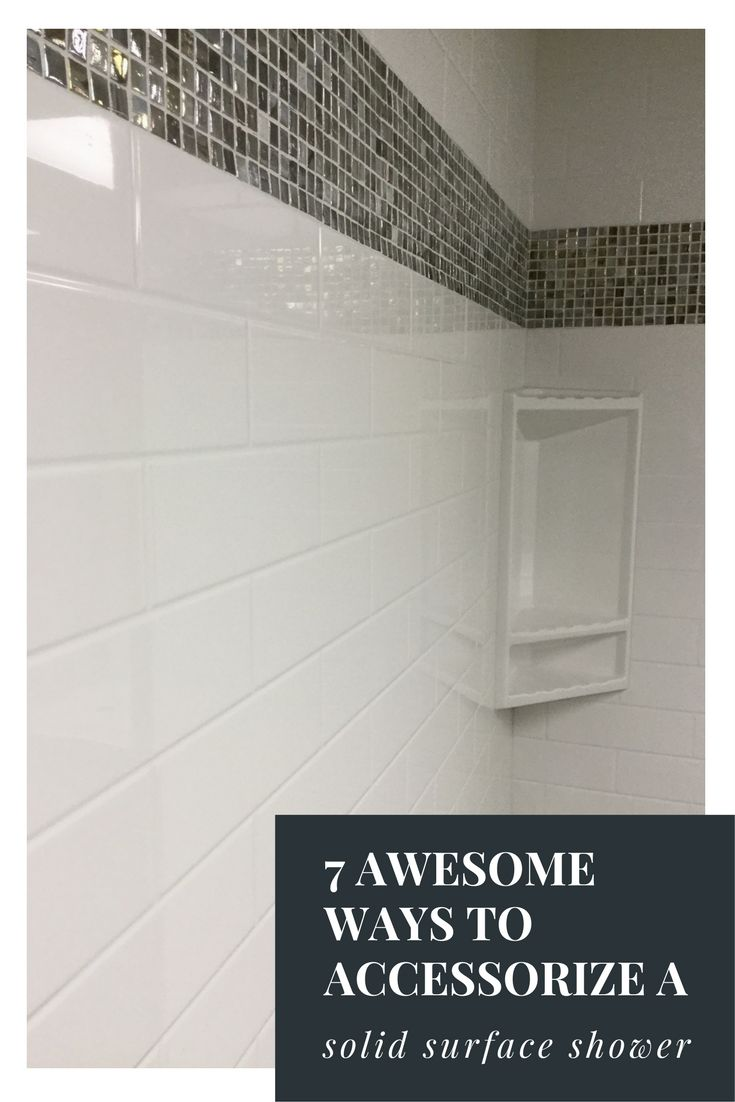 7 Awesome Tips To Accessorize Your Solid Surface Shower Kit. Shower Wall  PanelsBath ...