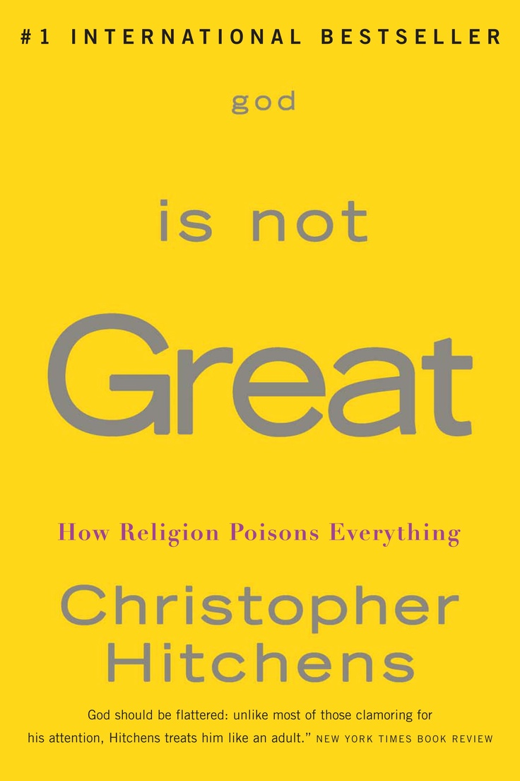 Christopher hitchens essays god is not great
