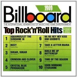 Billboard Top Rock 'N' Roll Hits, 1969 - the year my husband graduated high school