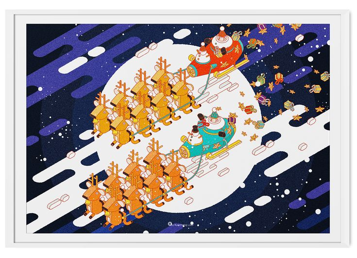 Solo Show 2015 / Santa Game Base on Behance
