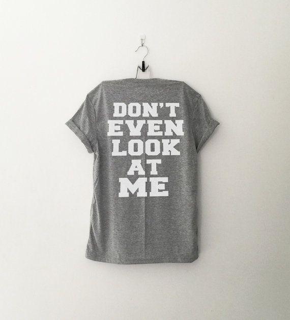 Frag mich lustige T-Shirt-T-Shirt mit Sprüchen Tumblr T von CozyGal