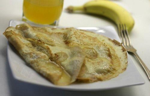 Карибские блинчики  Этот рецепт был почерпнут из какого-то журнала еще в те времена, когда бананы только начинали становиться самым народным и дешевым фруктом, и любые десерты с…