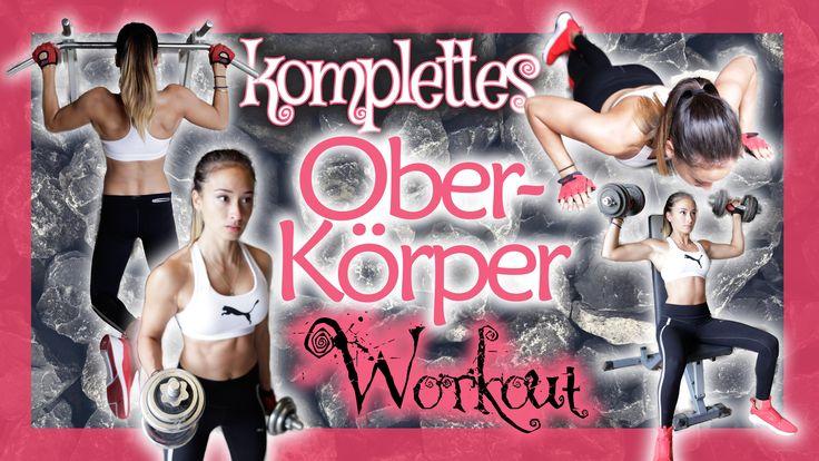 Winkearme wegtrainieren - Übungen um Brust zu straffen - schöne Schulter...