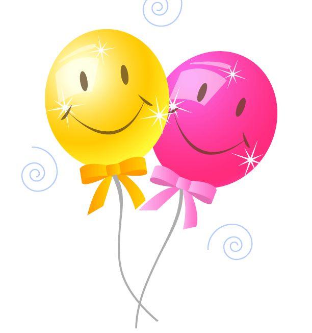 Birthday Balloons Clip Art