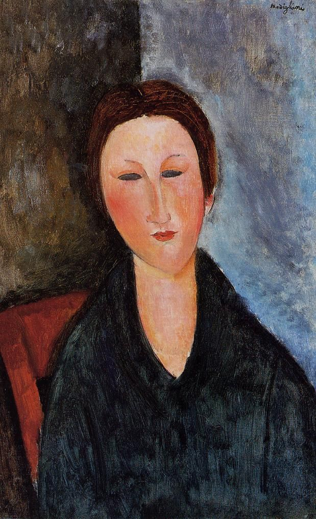 Bust of a Young Woman (Mademoiselle Marthe),   Amedeo Modigliani