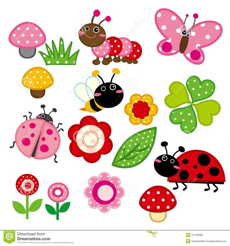 flowers cartoon background