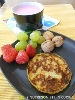 Q B Le ricette light: Pancakes alla banana con solo 2 ingredienti