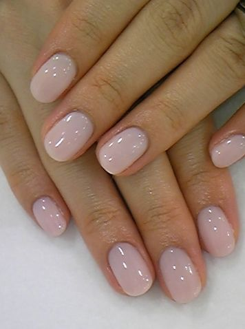 Can't go wrong with pretty soft pink nails