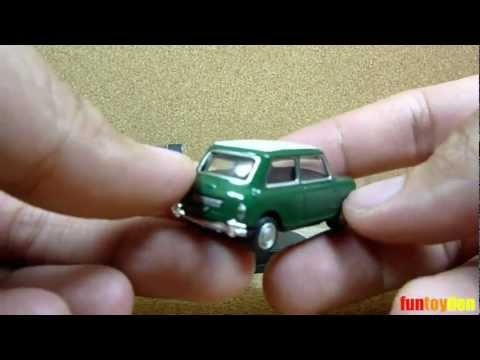 Mini Cooper Green - Cararama Die-cast Car Collection Unboxing