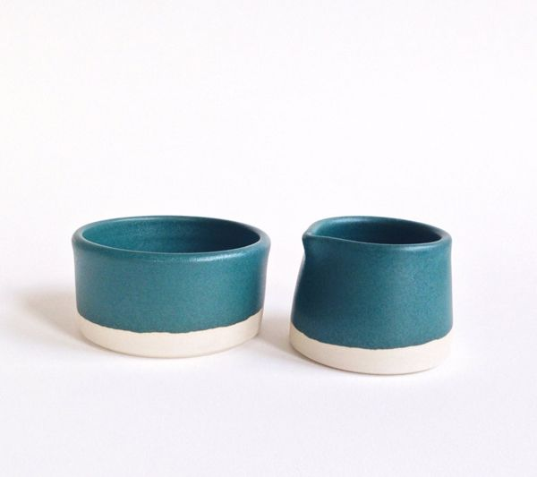 Sugar and Creamer by Paper & Clay - beautiful