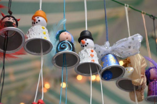 Decorações de Natal com cápsulas Nespresso podem ser conseguidas de diversas maneiras (Foto: michaelablog.com)