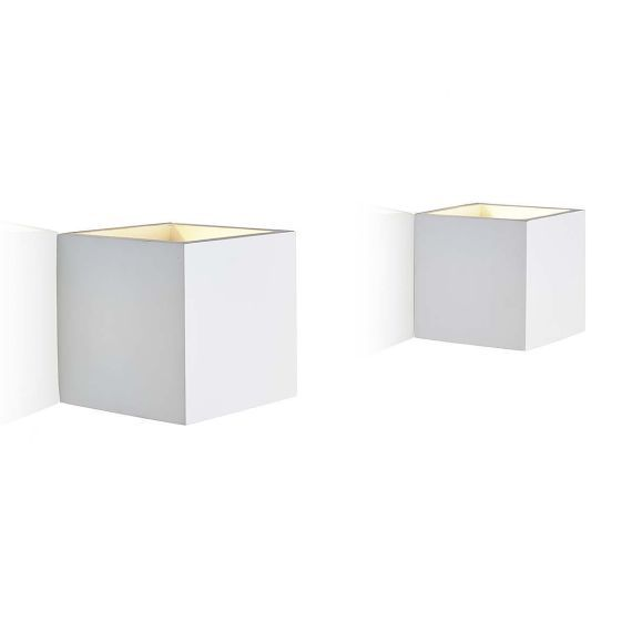 wandleuchte kubistisches design unlasierte keramik metall vorderansicht interior lights. Black Bedroom Furniture Sets. Home Design Ideas