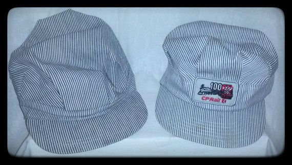 VTG Railroad Engineer Hats.