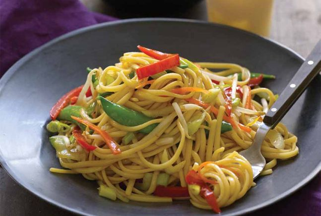 Vegetable Lo Mein | Recipe | Joy of Kosher with Jamie Geller