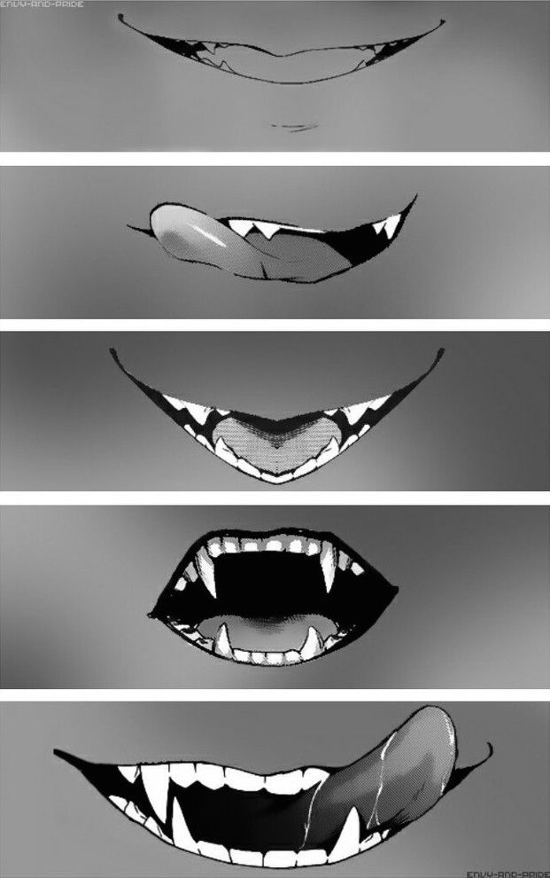 How To Draw Mouth With Tongue Out