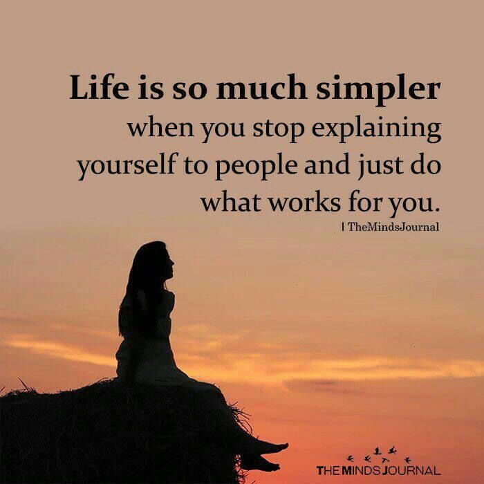 Life Is So Much Simpler Simple Life Quotes Life Quotes Peace Quotes