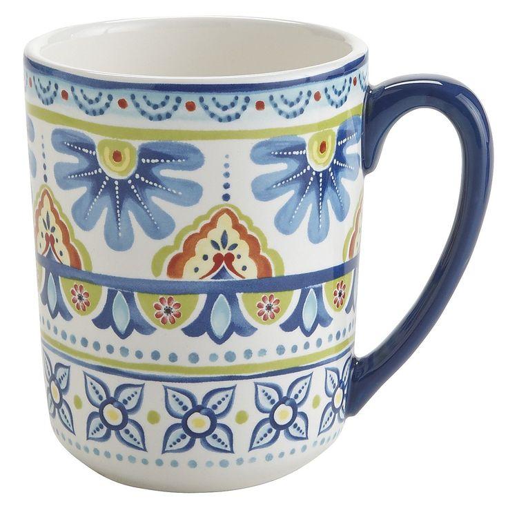 Mediterranean Tile Mug