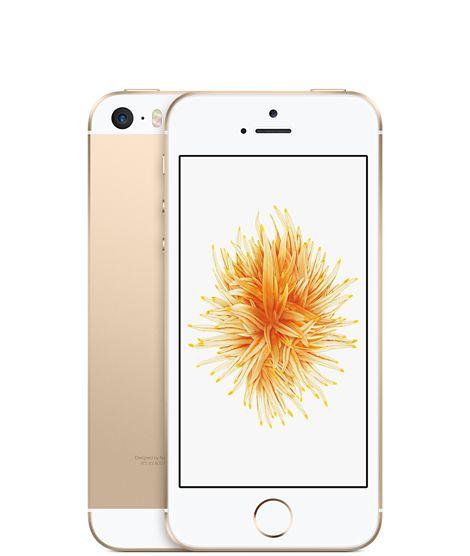 iPhone SE 16GB Gold - Apple (UK)