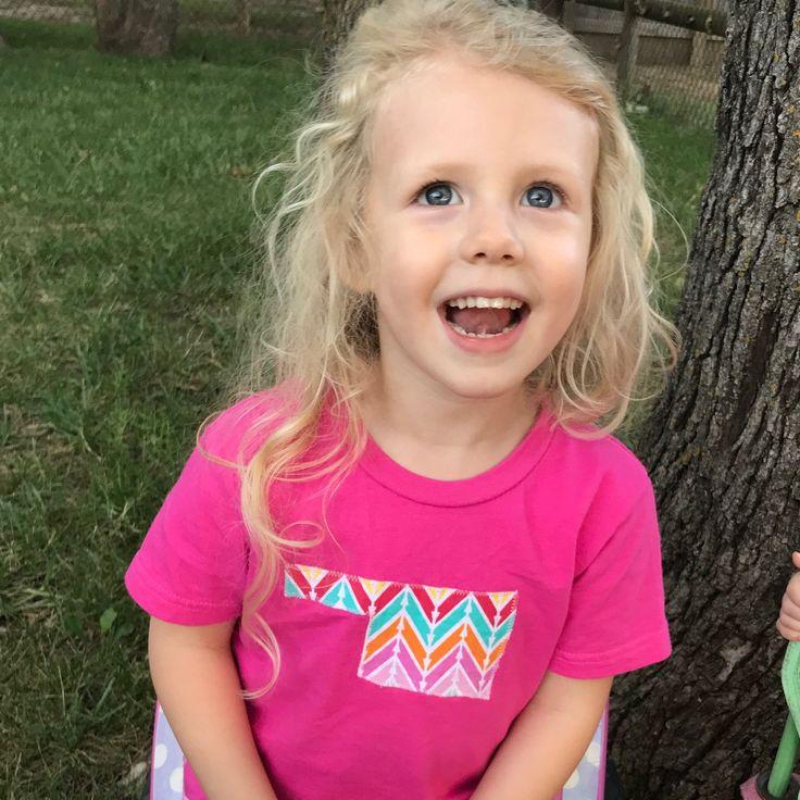 My Tabitha Taylor(TabbyTay) modeling her Oklahoma shirt!