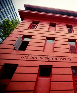 28 Maxwell Road Singapore - In another delightful twist, the former Traffic Police headquarters at Maxwell Road, which once managed and dispensed regulations of the country's streets, is now red dot Traffic, an eclectic space where rules are meant to be broken.  Now houses food and beverage outlets and the red dot design museum.  The building originally was built to serve as living quarters for married junior officers of the Metropolitan Police Force. Its also is where driving tests were…