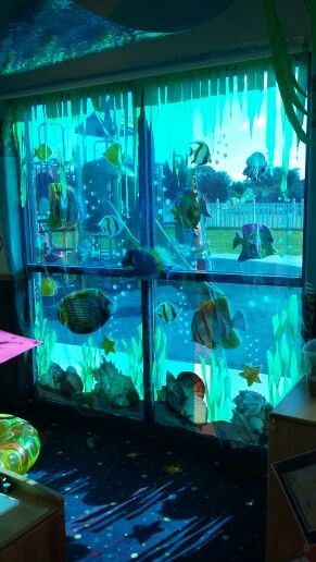 Under The Sea Octopuses Garden In 2019 Underwater Party Under The Sea Decorations Ocean Party