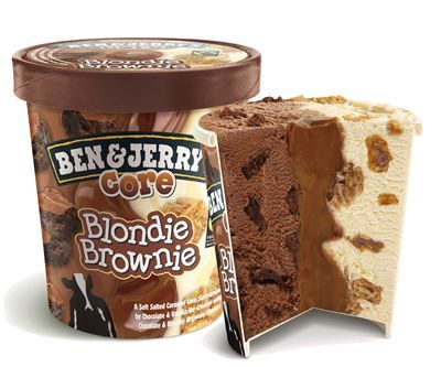 BEN & JERRY'S Blondie Brownie