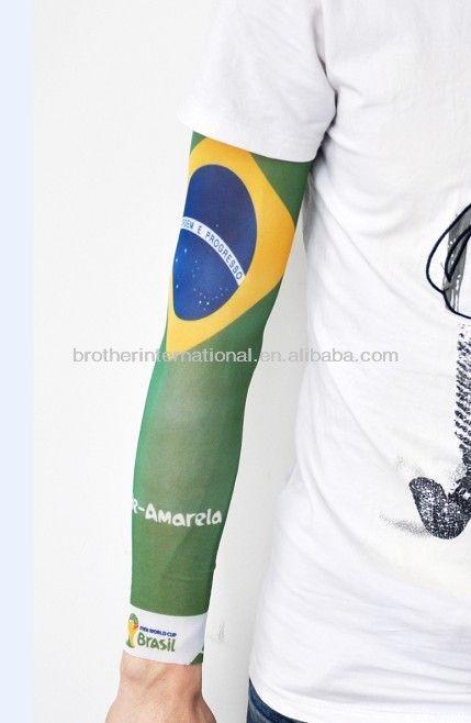 2014 world cup nylon fake Tattoo Sleeves $0.35~$4