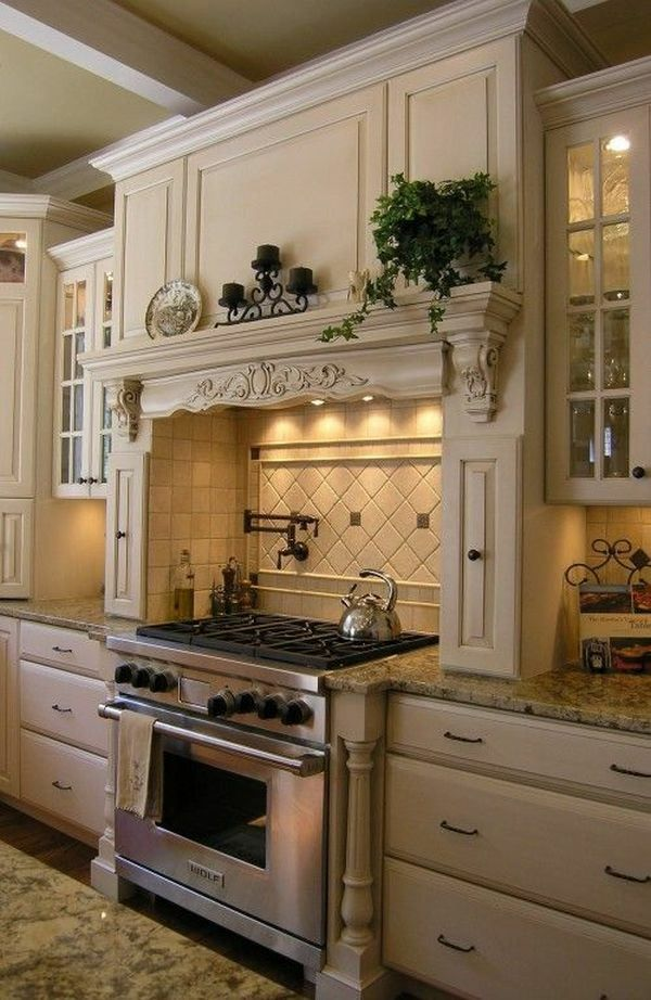 idée de décoration de cuisine provençale