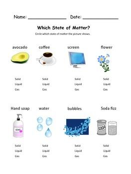 states of matter multiple choice questions and answers pdf